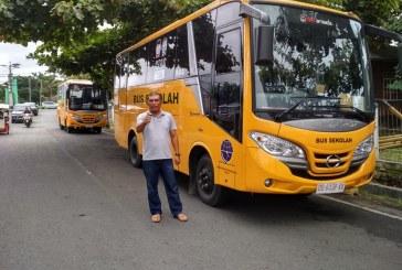 Pemkot Kotamobagu Terima Satu Unit Bus Sekolah