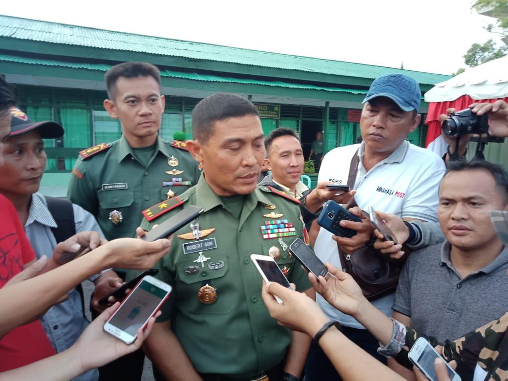 Danrem Santiago Ingatkan Anggota TNI Cerdas Gunakan Medsos