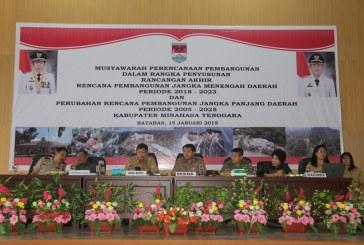 Wabup Jocke Legi Buka Musyawarah RPJMD tahun 2018-2023 dan Perubahan RPJPD tahun 2005-2025