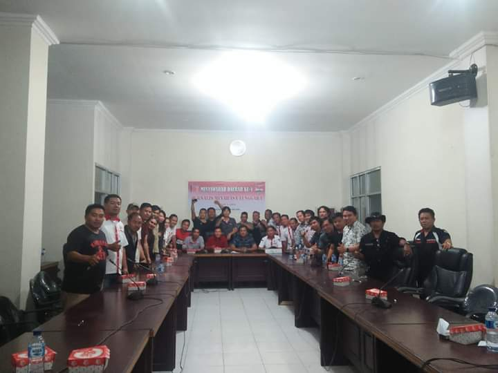 Stenly Kalumata Terpilih Ketua JMT Periode 2019-2021