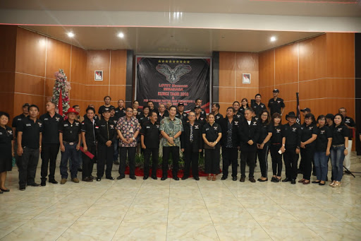Wagub Kandouw Diangkat Jadi Dewan Kehormatan Loyot Maesaan Minahasa