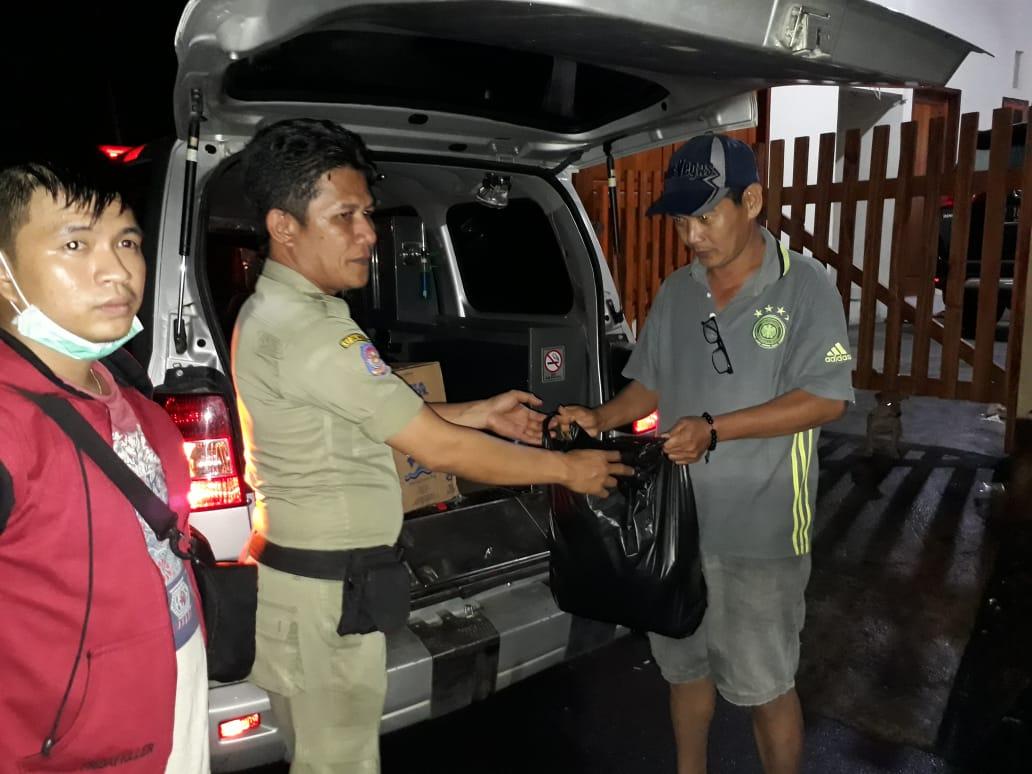 Hingga Saat ini, Posko Siaga Bencana Pemprov Terus Salurkan Bantuan Warga Manado