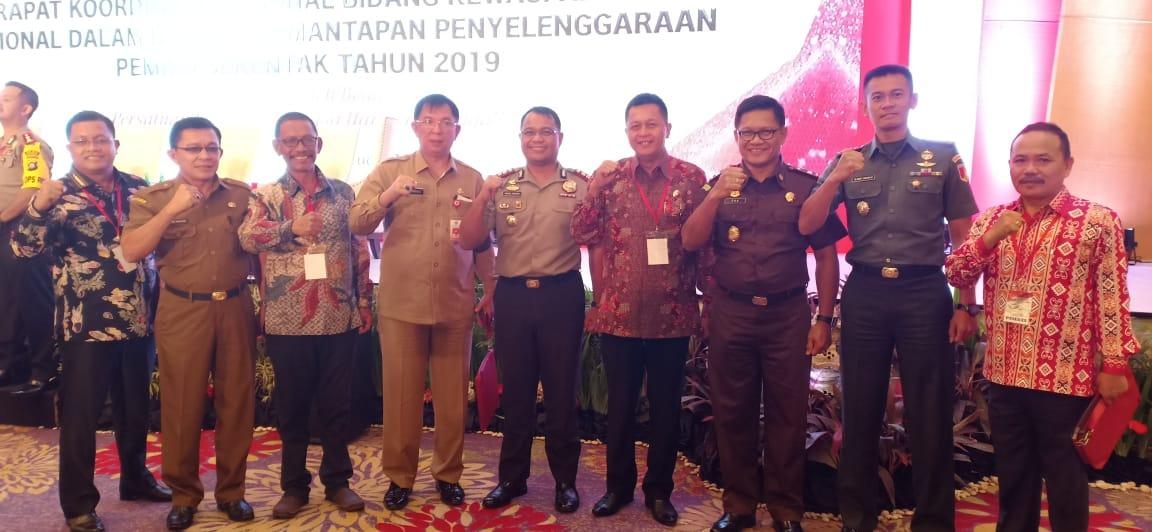 Forkopimda Mitra Kompak di Rakornas, Bertekad Wujudkan Pemilu Beradab dan Berkualitas