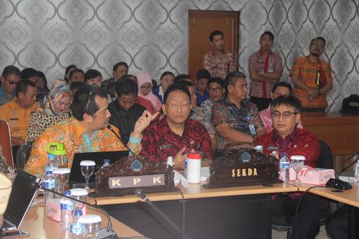Pemprov Sulut Bersama KPK Cegah Praktek Korupsi di Bidang Penerimaan Daerah