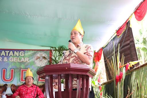 Hadiri Acara Tulude di Batusaiki, Wagub Kandouw Ajak Masyarakat Selalu Bersyukur