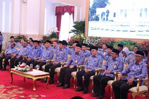 Presiden Jokowi Buka Rakernas Korpri 2019, Sekprov Silagen Hadir Dengar Instruksi Presiden