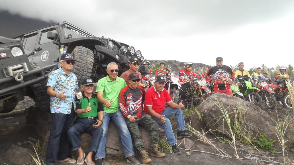 Pesona Gunung Soputan Tuai Pujian, Jadi Tempat Reuni Jendral Lumintang Cs