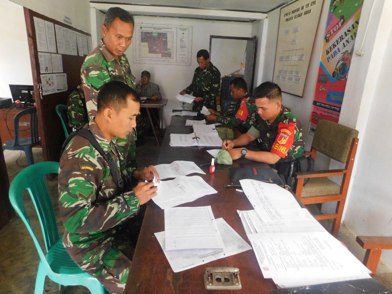Latihan Teknis Teritorial Kodim 1302/Min Memasuki Tahap Praktek