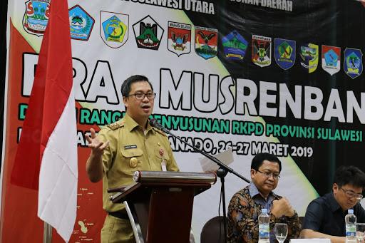 Ini yang Diingatkan Wagub Kandow pada Pra Musrenbang RKPD 2020