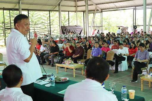 Sinergi dengan Pemerintag, Gubernur Olly Apresiasi Solidnya Kerja Sama Pemprov-GMIM
