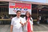 Bersama Isteri, Wagub Steven Kandouw Coblos di TPS 13 Wanea
