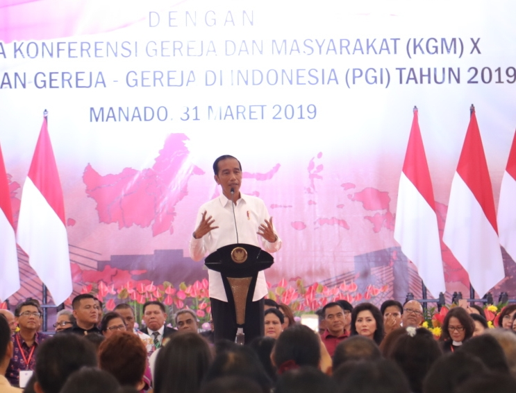 Presiden Jokowi Hadiri Undangan KGM X-PGI, Gubernur Olly Ucapkan Terima Kasih, Sulut Banyak Perhatian