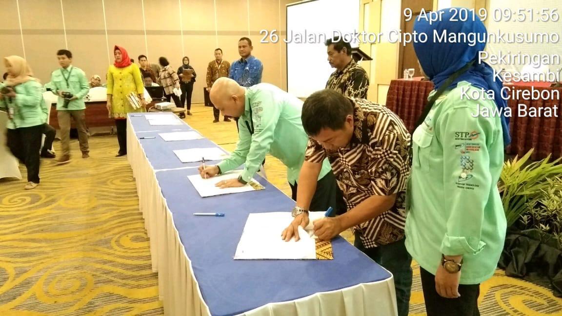 Bupati Sumendap MoU dengan BPPT Pengkajian dan Penerapan Teknologi Pembangunan Pemerintah Daerah