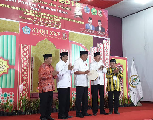 Gubernur Olly Dondokambey Buka Rangkaian Pelaksanaan STQH XXV Sulut