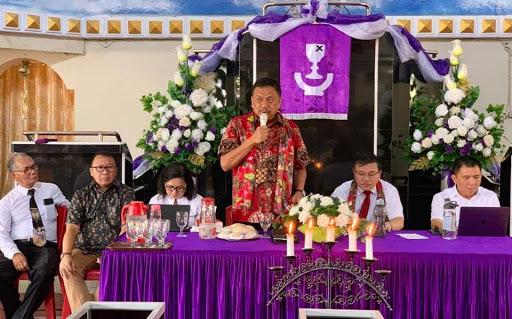 Gubernur Olly Sampaikan Pentingnya Sinergitas Gereja dengan Pemerintah Optimalkan Pembangunan