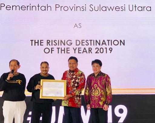 Hebat.! Dibawa OD-SK, Sulut jadi 'The Rising Star' Sektor Pariwisata