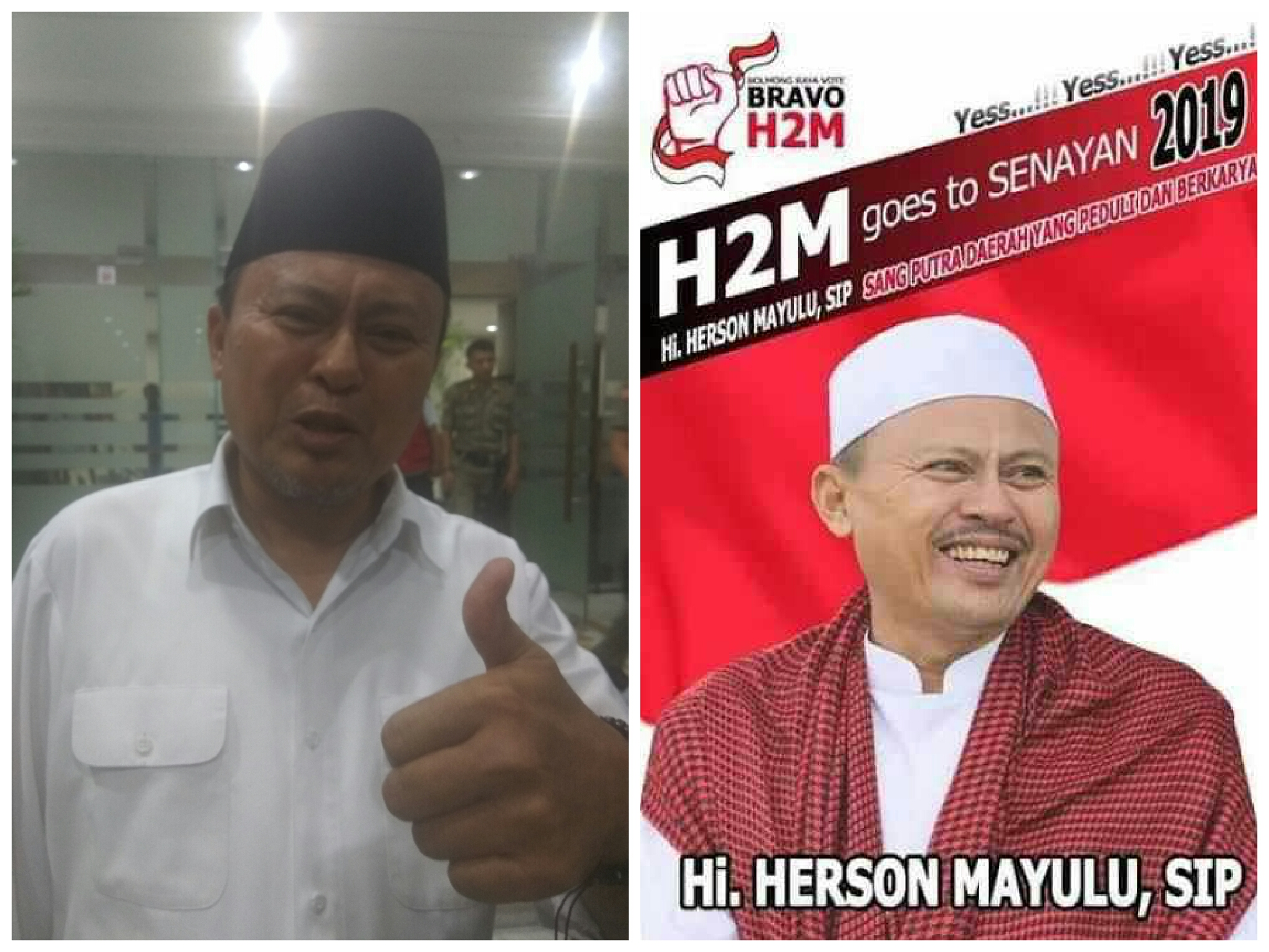Optimis, Herson Mayulu Sebut 4 Kursi DPR RI dari Sulut Pasti Diboyong PDI-P