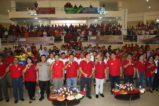 Ini Kata Wagub Kandouw di Peringatan Hari Buruh Sulut