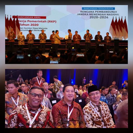 Wagub Kandouw Hadiri Musrenbangnas 2019, Dibuka Langsung Presiden Jokowi