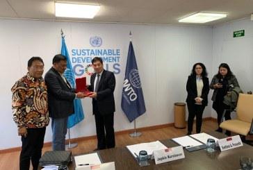 Mendunia, Gubernur Olly Temui Direktur Eksekutif UNWTO Bahas Soal Asistensi Pariwisata Sulut
