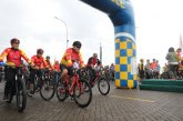 Wagub Kandouw Meriahkan Jaya Sakti Fun Bike HUT Kodam XIII Merdeka ke-61