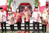 Buka Kegiatan BBGRM XVI Bolsel, Gubernur Olly Ingatkan Pentingnya Nilai-nilai Gotong Royong