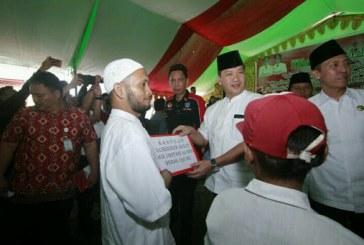 Lanjutkan Program Jokowi, Wagub Kandouw Bagikan 927 Sertifikat Tanah Gratis di Bolsel
