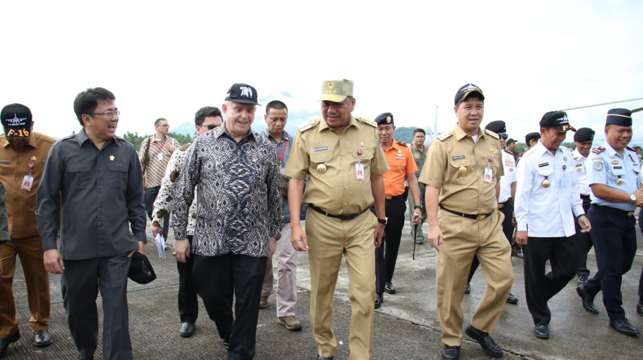 Digelar di Manado, OD-SK bersama Dubes AS Hadiri Pembukaan Cope West 2019