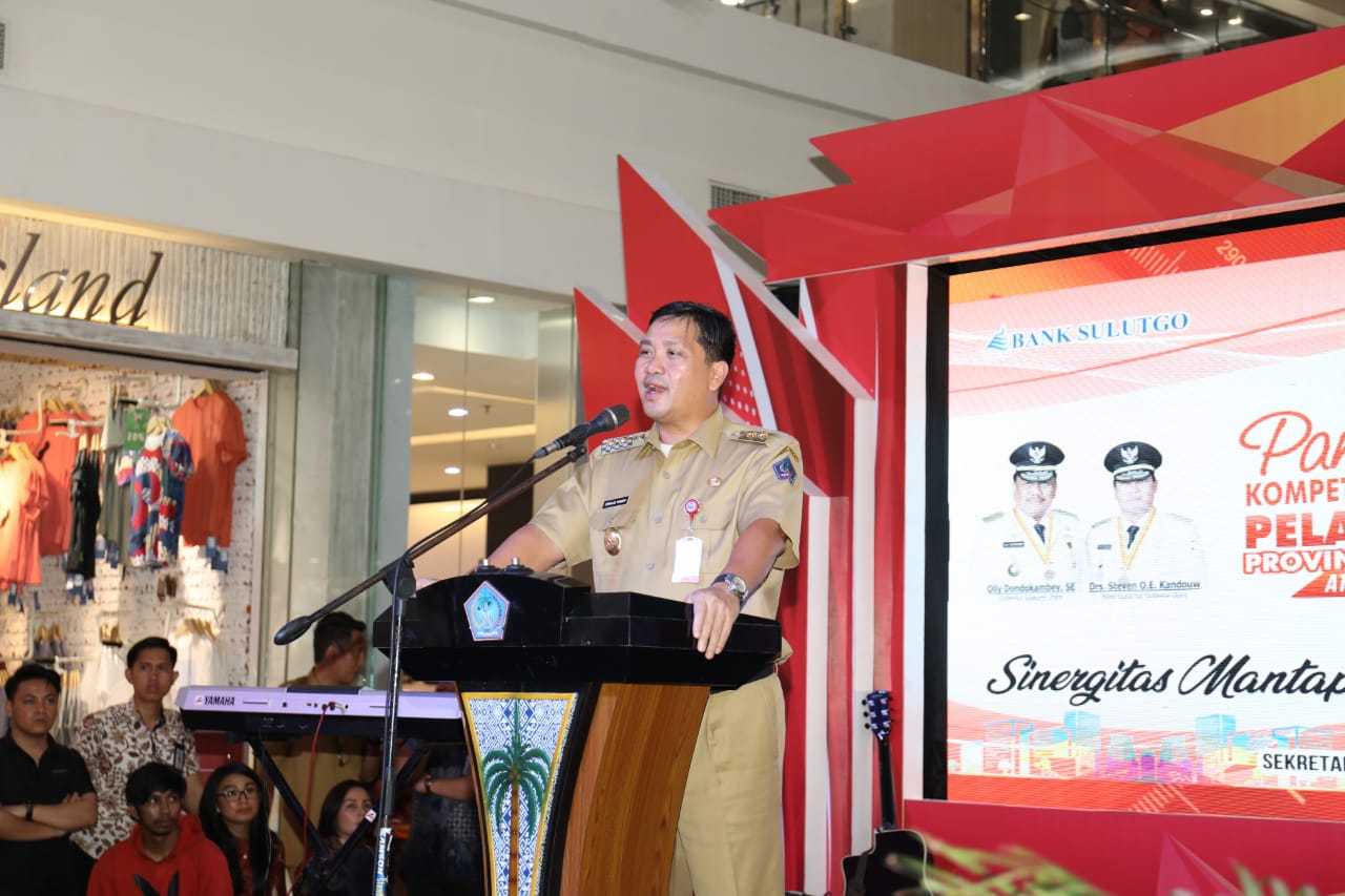 Wagub Kandouw Buka Pameran Kompetisi Pelayanan Publik