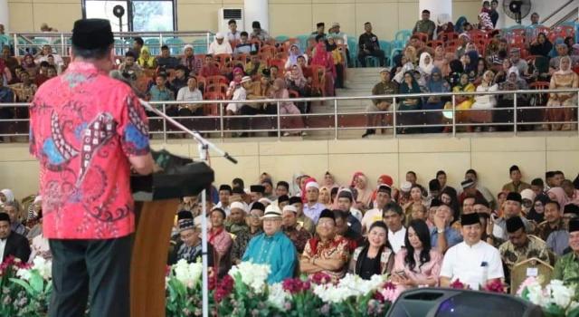 Dimomen Halal Bihalal Pemprov Sulut, Gubernur Olly Pesankan Makna Karena Torang Samua Ciptaan Tuhan