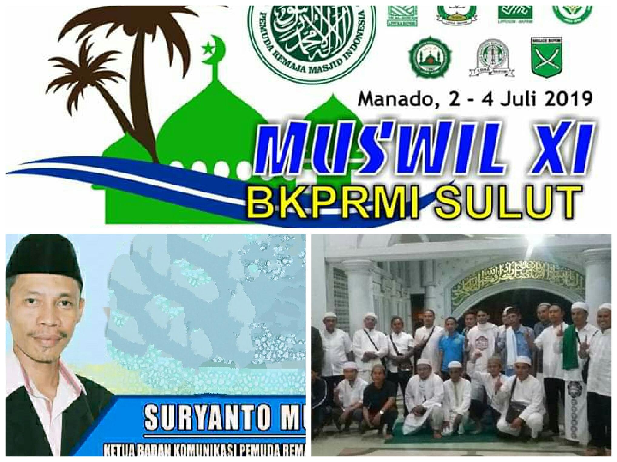Suryanto Muarif: Saya Siap jadi Ketum BKPRMI Sulut Jika Diamanahkan