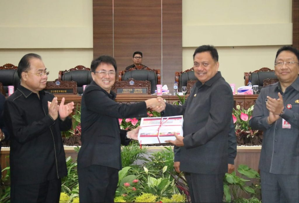 Apresiasi Gubernur Olly kepada DPRD Sulut Atas Disetujuinya Ranperda APBD 2018