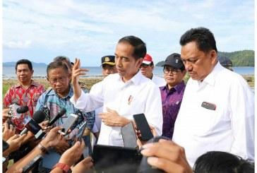 Jokowi Tinjau Proyek Tol Manado-Bitung, Minut,Perintahkan Awal Tahun Selesai