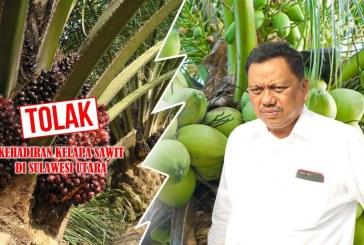 Gubernur Olly Tegaskan Menolak Kehadiran Kelapa Sawit di Sulut