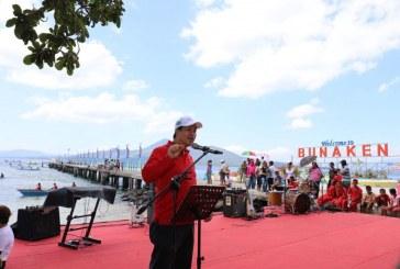 Ini Pesan Wagub Kandouw di Acara Puncak Festival Pesona Bunaken 2019