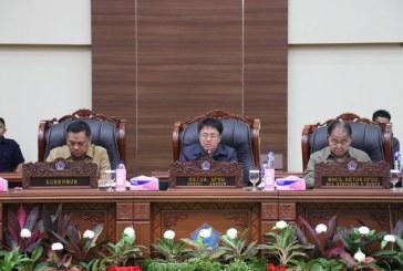 DPRD Sulut Terima Laporan Gubernur Olly Dondokambey atas Penyampaian Pertanggungjawaban Pelaksanaan APBD Tahun TA 2018