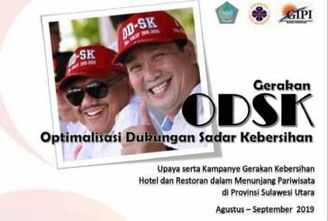 """Majukan Pariwisata Sulut dengan Menyukseska Gerakan """"Optimalisasi Dukungan Sadar Kebersihan"""" (ODSK)"""