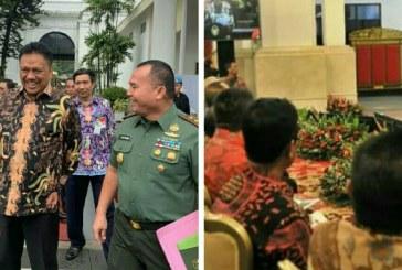 Gubernur Olly Hadiri Rakornas Bersama Presiden Jokowi Bahas Karhutla