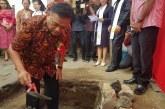 Gubernur OD Letakan Batu Pertama Pembangunan Menara Lonceng GMIM Kalvari Malalayang