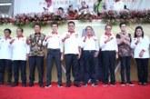 Gubernur Olly Dampingi Penpora Zainudin Buka Jambore Pemuda Indonesia 2019 di Minahasa
