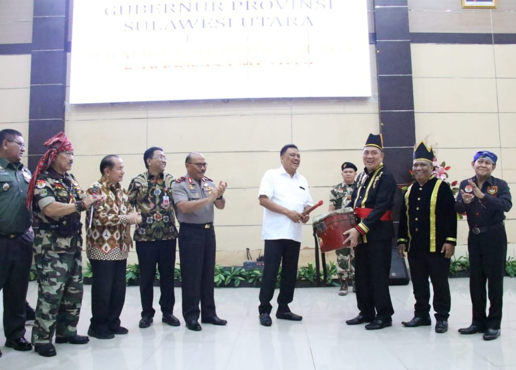 Majukan Daerah, Gubernur Olly Ajak Ormas Adat LMI Dukung Program Pembangunan di Sulut
