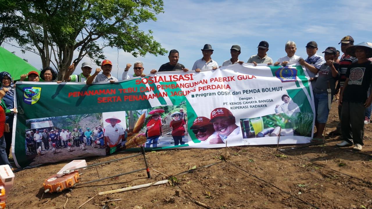 Raewaya Group Dukung Program OD-SK Bangkitkan Proyek Ekonomi Kerakyatan di Bolmut