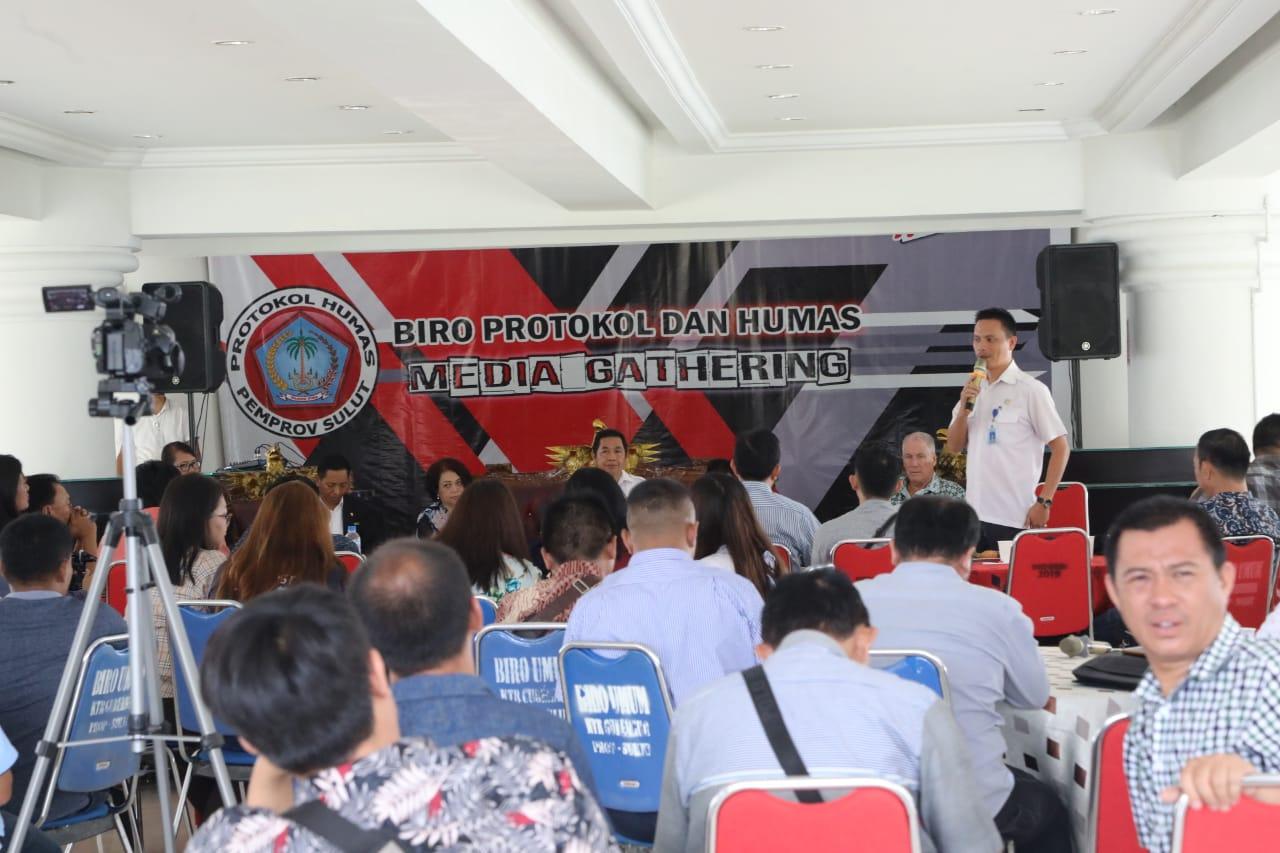 Sinergitas Majukan Pariwisata Sulut, Humas Setdaprov Sulut dan JIPS Bahas Pariwisata dalam Media Gathering