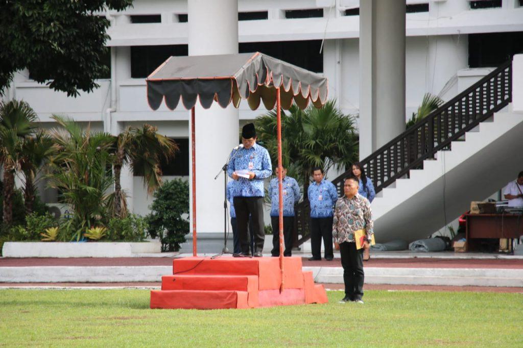 Irup Peringatan Hari Pahlawan, Wagub Kandouw Bacakan Amanat Mensos