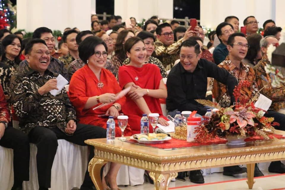Hadiri HUT ke-58, Mensos Batubara Puji Ketulusan Gubernur Olly Bangun Sulut