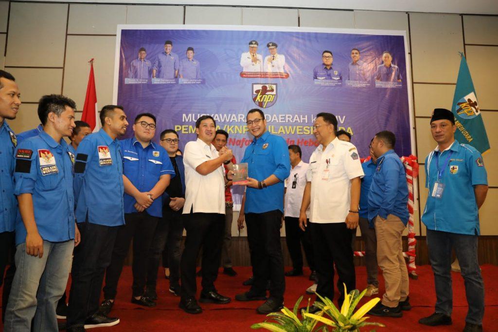 Buka Musda KNPI Sulut ke XIV, Wagub Kandouw Ajak KNPI Sinergi dengan Pemerintah