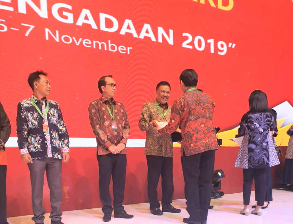 Hebat, OD-SK Bawa Sulut Raih National Procurement Award 2019
