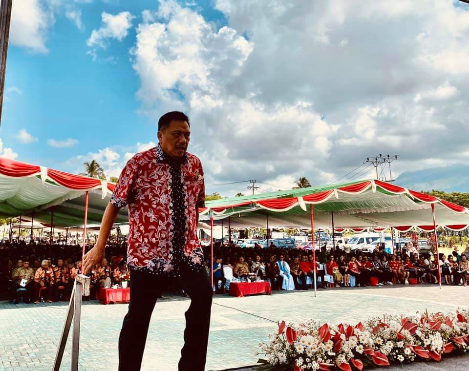 Gubernur Olly Kagum Lihat Semangat Lansia GMIM