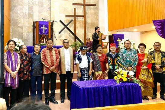 Gubernur Olly Hadiri Serah Terima MPH PGI di Jakarta
