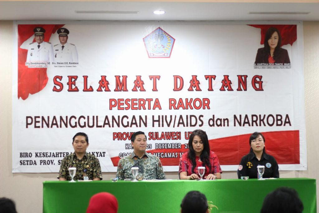 Tetap Waspada, Wagub Kandouw Ajak Masyarakat Perangi HIV/AIDS